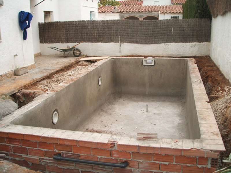 for Construccion de piscinas de hormigon paso a paso